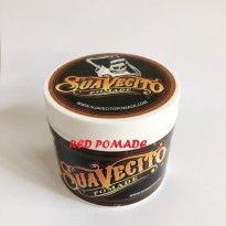POMADE SUAVECITO ORIGINAL HOLD MEDIUM WATERBASED WATER BASED 4 OZ + FREE SISIR SAKU