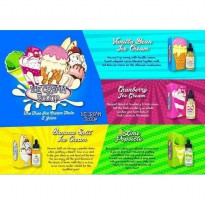Ice Cream Scoop Premium Liquid Rokok Elektrik 30 ML