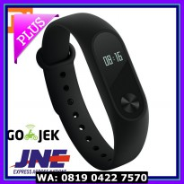 (Sale) Original Xiaomi Mi Band 2 Pulse Light Senstitive (Black) - MI