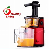 Healthy Living K-Q8 Slow Juicer Natural Juice Extractor - RED