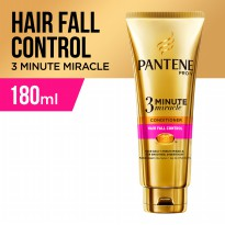 P&G Pantene Conditioner 3 Minute Miracle 180 ml (Hair Fall Control, Total Damage Care)
