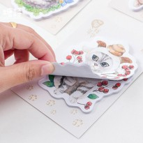 Cat Lover Sticky Notes Post-its - Label Sticky Note It Kertas Tulis Tempel Catatan Mini Lucu Unik