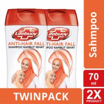 TWIN PACK - LIFEBUOY SHAMPOO ANTI HAIRFALL 70ML