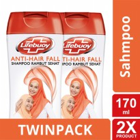 TWIN PACK - LIFEBUOY SHAMPOO ANTI HAIRFALL 170ML