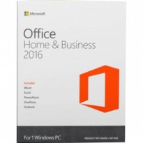 Microsoft Office Home And Business 2016 - 1pc