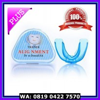 (Dijamin) Orthodontic Retainer Teeth Trainer Alignment pelurus