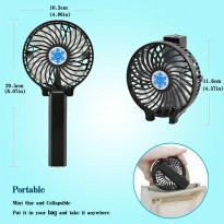 HANDY MINI FAN RECHARGEABLE - KIPAS ANGIN TEKUK / LIPAT
