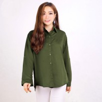 Basic Long Sleeve Shirt - Kemeja Basic Lengan Panjang