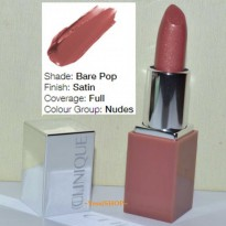CLINIQUE MINI POP LIP COLOUR +PRIMER COLOUR BARE POP