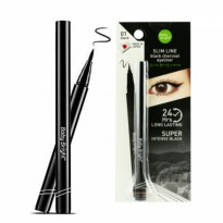 Baby Bright Cathy Doll Slim Line Black Charcoal Eyeliner 24Hrs Long Lasting Super Intense Black