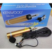 Mic Mini Tie Clip On Condensor Kenwood Wm-777 Harga Promo10