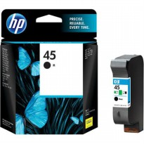 HP Black Ink Cartridge 45