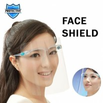 Kaca Mata Face Shield BOX ( Anti Oil Mask )