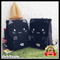 Tas Ransel Wanita Murah Model Cat Cartoon FAS-017