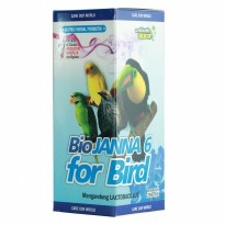 Biojanna 6 For Bird Nutrisi 250 ml