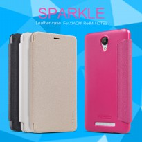 Nillkin Sparkle Leather Case Flip Cover / Flipcase Xiaomi Redmi Note 2 - 100% Original