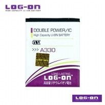 LOG-ON Battery For MITO A330- Double Power & IC - Garansi 6 Bulan
