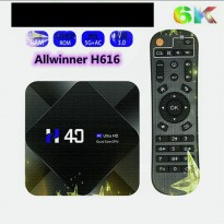 H40 Android TV Box Allwinner RAM 4GB ROM 64GB