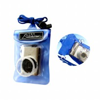 Fishfine Waterproof Camera Case - Kamera Poket - Blue