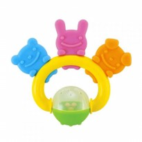 RICHELL ANIMAL TEETHER - ANIMAL FRIEND