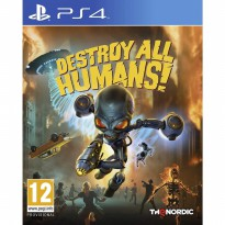 PS4 Destroy All Humans! With Bonus Postcards Region 2 EUR