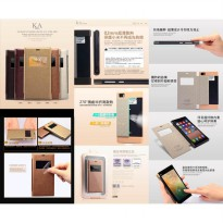 Leather Case Flip Stand Window Kalaideng KA Series - Xiaomi Mi3 (MI-3)