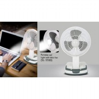 Portable Mini Fan With LED Light SL 5590 TD0032