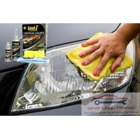 Cairan Pembersih & Pengkilat & Penjernih Kaca Lampu Mobil - GETF1 CRYSTAL LIGHT HEADLAMP POLISHER & UV PROTECTOR 130 Ml NOT TURTLE WAX MEGUIARS