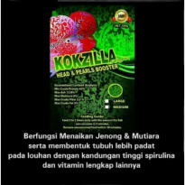 Pellet kokzilla green for head and pearl booster