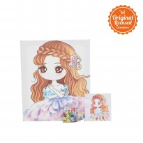Character Land - L.Blend Kanvas Kancing (Button Canvas) Besar TAW assrt Type C
