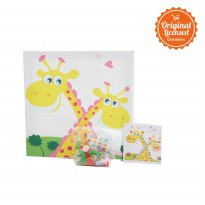 Character Land - L.Blend Kanvas Kancing (Button Canvas) Kecil TAW assrt Type C