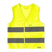 IKEA (R) - BESKYDDA Safety Vest High Visibility, Foldable, Pockets Available 100% polyester