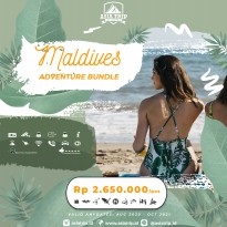 Paket Tour Adventure Bundle Maldives 4D3N AsiaTrip