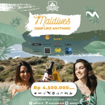 Paket Tour Dine Like Anything Maldives 4D3N AsiaTrip