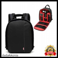 Tas Kamera Punggung DSLR Anti Air Many Slot High Quality FOT-110