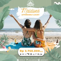 Paket Tour Affordable Luxury Maldives 4D3N AsiaTrip