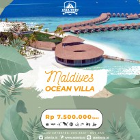 Paket Tour Ocean Villa Maldives 4D3N AsiaTrip