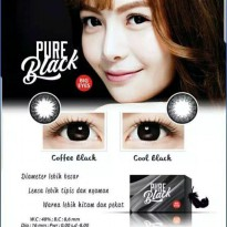 L56 - Softlens LC Pure Black BIG 16mm