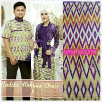 couple hijab dress songket