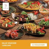 Seribu Rasa - Value Voucher 1.000.000