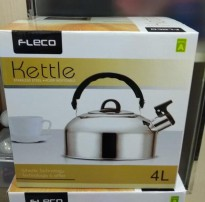 TEKO AIR FLECO WHISTLING KETTLE 4 LITER LB0039