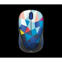Mouse Wireless Logitech M238 Colourful Play Collection Blue Facet