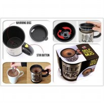 Gelas Unik Dan Otomatis / Automatic Self Stirring Coffee Cup