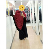 Cape Veil Pricilla Size XL / Jaket Fashion / Ponco Penu