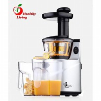 Healthy Living K-Q8 Slow Juicer Natural Juice Extractor - SILVER