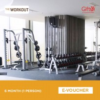 The Workout Gym 6 Months (1 Person)