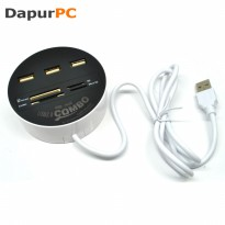 Multi Card Reader + 3 USB HUB 2.0