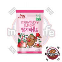 Nuts Holic Strawberry Almond - Kacang Almond Rasa Strawberry HALAL 180gr