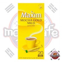 Maxim Mocha Gold Mild Coffee Kopi Moka Korea 20Pcs