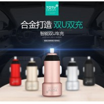 Totu Design Smart Car Charger Dual USB 3.4A - CC02